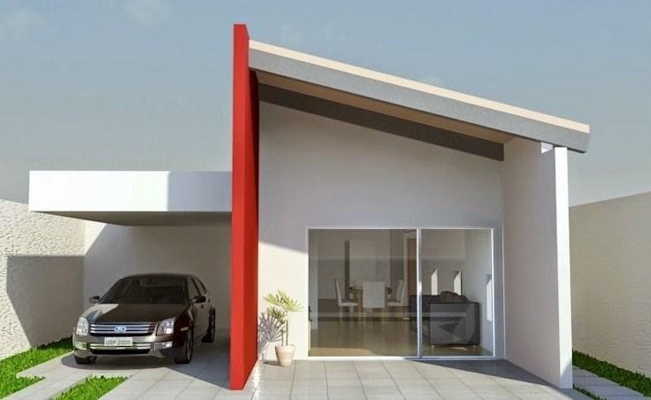 Fachadas exteriores fachada marron with fachadas - Fachadas exteriores de casas ...