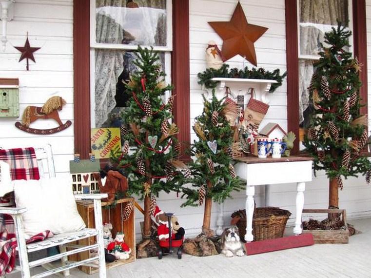 Ideas para decorar la fachada en navidad
