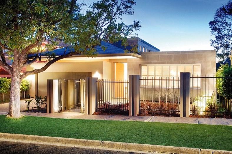 Fachadas de casas economicas - Modelos de casas de un piso bonitas ...