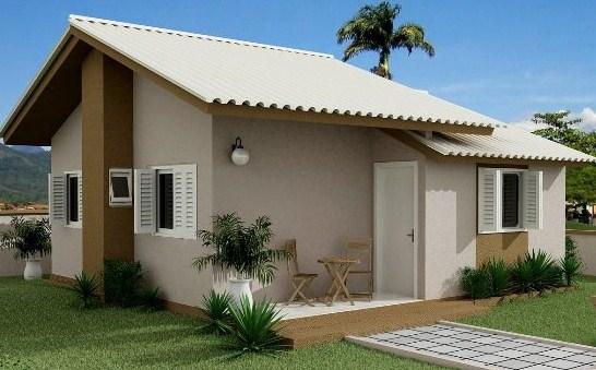 Modelos de casas sencillas de 1 piso