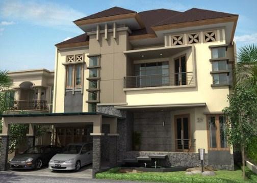 Fachadas de casas con molduras - Casas clasicas modernas ...