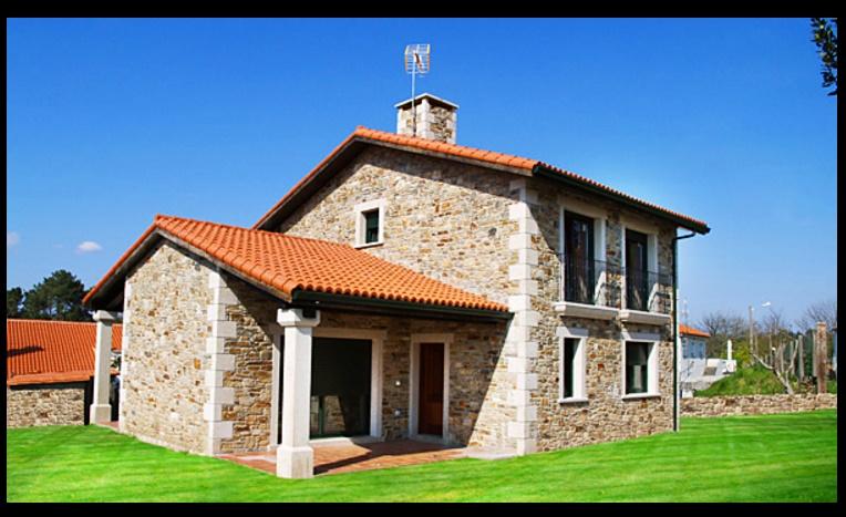 Fachadas de casas rusticas for Ver frentes de casas modernas