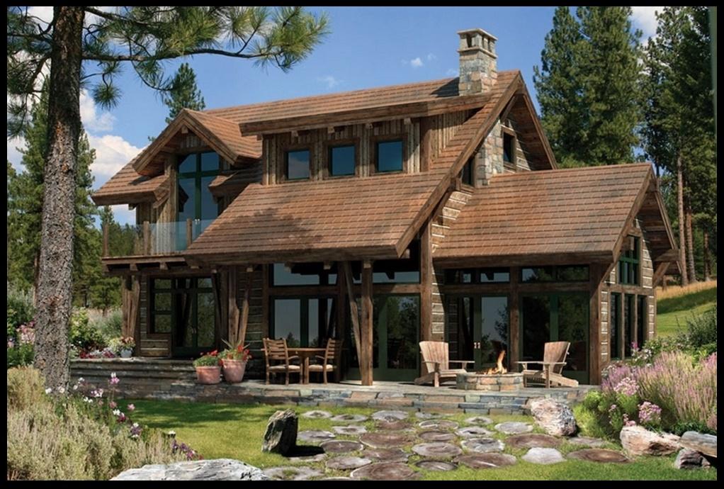 Fachadas de casas rusticas for Modelos de casas rusticas