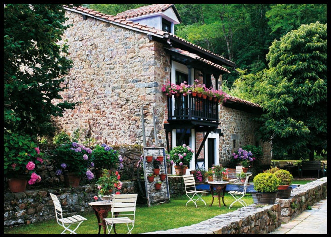 Decorar jardines rusticos gallery of decoracion de for Jardines rusticos campestres