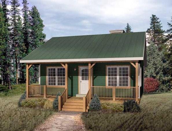 Casa de campo sencilla