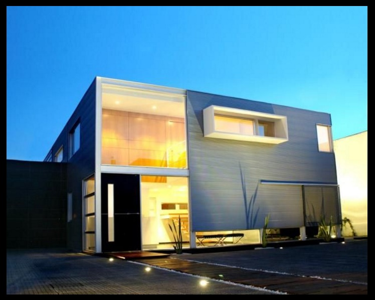 Casas bonitas minimalistas
