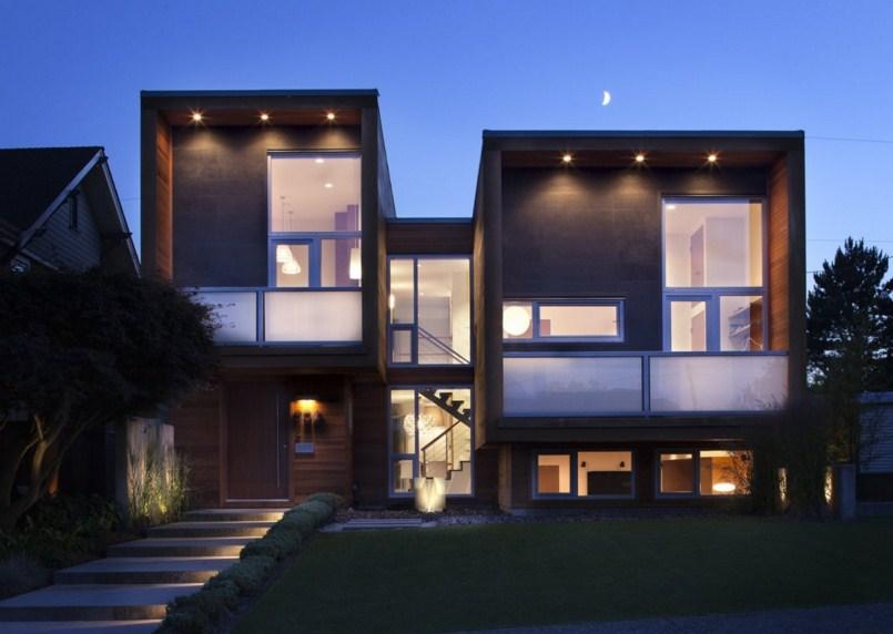 Fachadas de casas con escaleras - Modelos de escaleras de casas ...