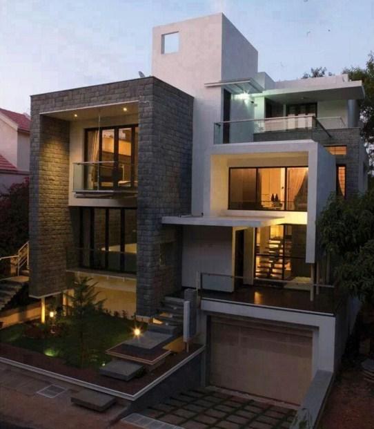 Casas con piedra natural