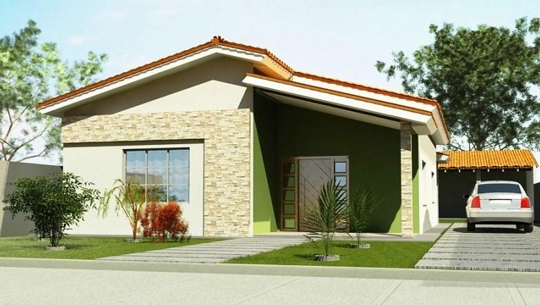 Casas sencillas y pequeñas