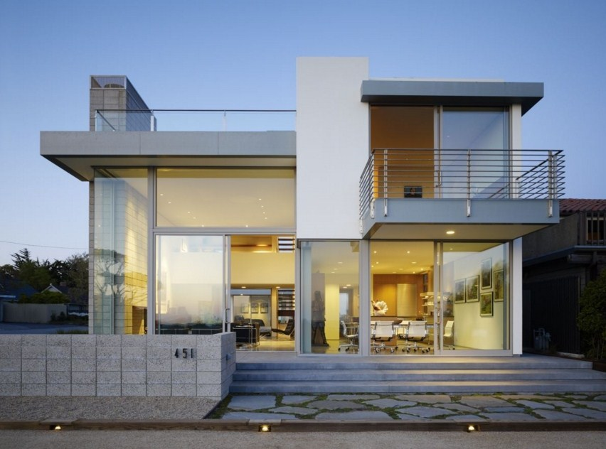 Fachadas con escaleras