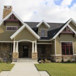Fachadas de casas con ventanas