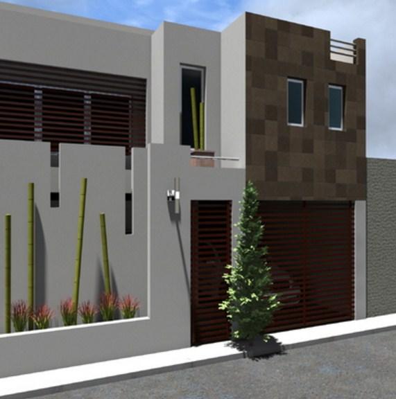 Fachadas de casas con vitropiso for Fachadas exteriores de casas