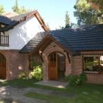 Fachadas de casas con ladrillos
