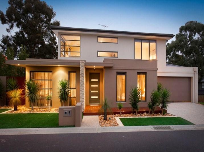 Fachadas de casas con baldosas bonitas