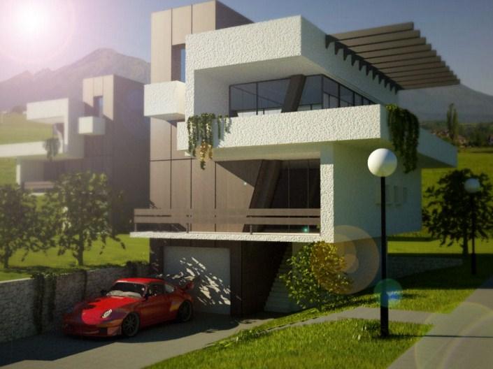 Casas de fachadas casas y fachadas tattoo design bild - Disenos de casas modernas ...