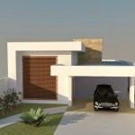 Fachadas de casas con hall