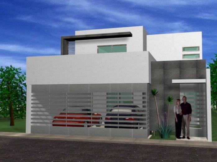 Rejas horizontales para casas for Buscar casas modernas