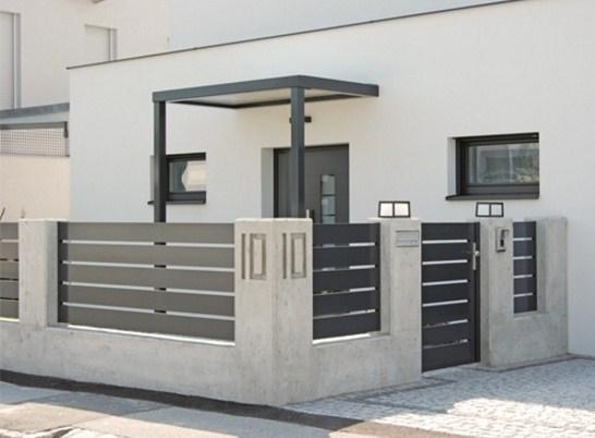 Rejas horizontales modernas - Rejas de casas modernas ...