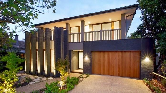 Fachadas de casas con rejas verticales