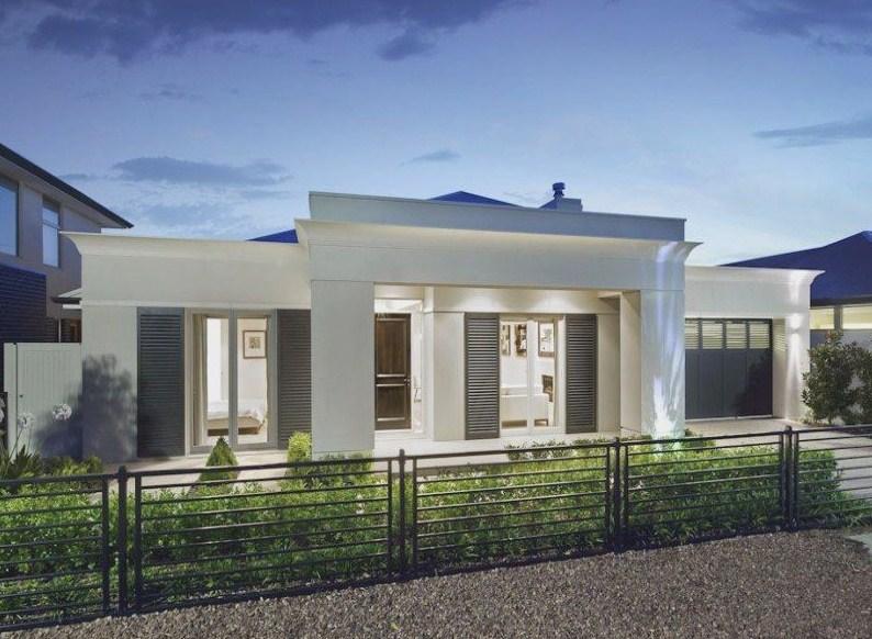 Fachadas de casas con ventanas de aluminio