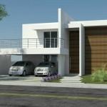 Fachadas de casas sencillas y pequeñas