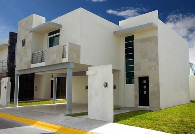 Fachadas de casas modernas con balcones for Fotos de casas modernas con balcon