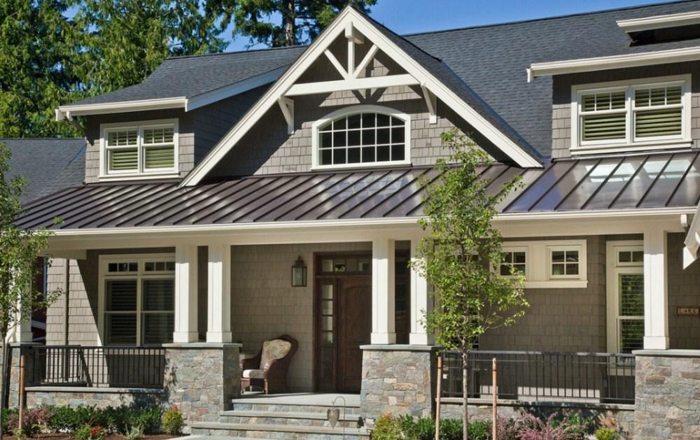 Fachadas de casas modernas con buhardilla