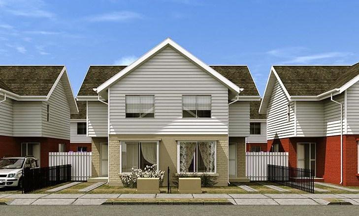 Fachadas de casas modernas con siding