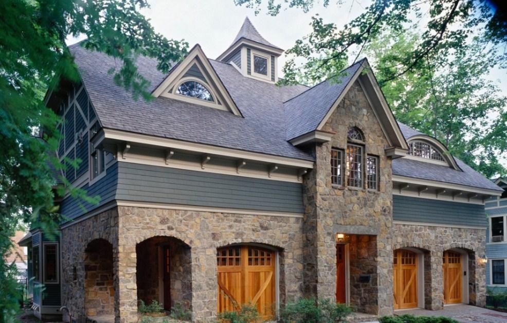 Fachadas de casas rusticas con buhardilla