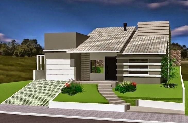 Fachada de casas sencillas fachada de casas tattoo for Diseno de casa sencilla