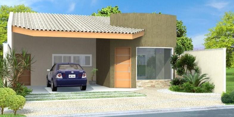 Fachadas de casas sencillas