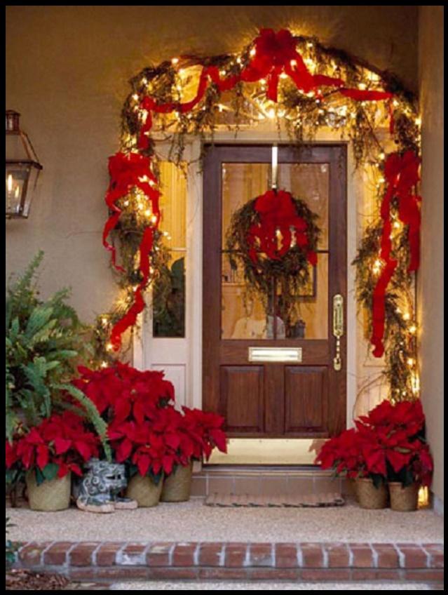 Fachadas decoradas en navidad