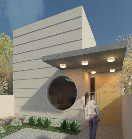 Modelos de casas sencillas pero bonitas for Oficinas pequenas modernas en casa