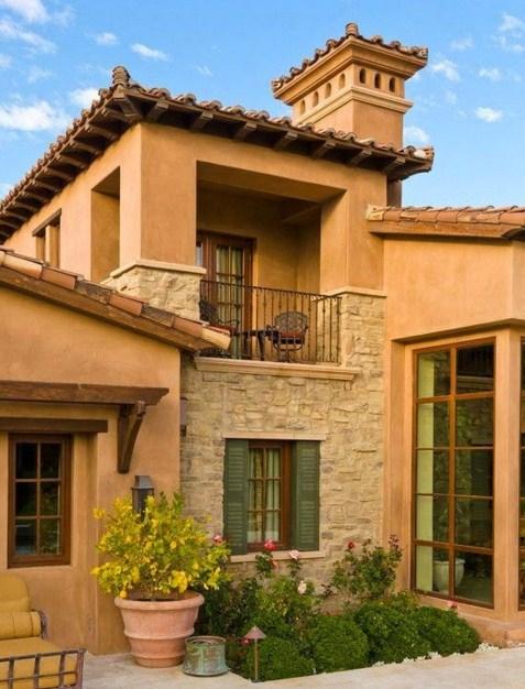 Fachadas con fachaleta for Fachadas de casas estilo rustico moderno