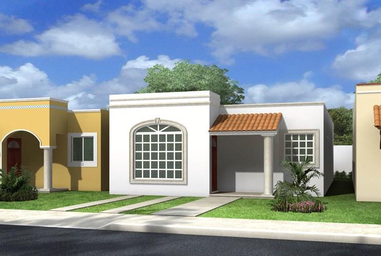 Fachadas de casas sencillas for Frentes de casas minimalistas fotos