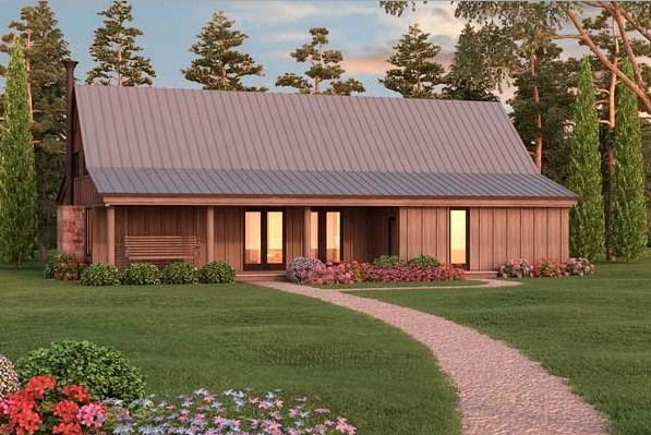 Fachadas de casas sencillas part 5 for Casas rusticas pequenas