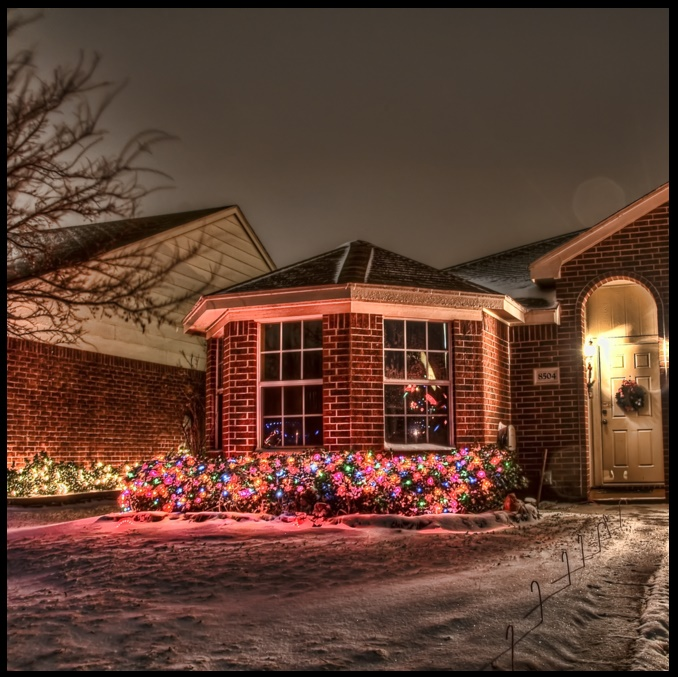 como decorar la fachada para navidad