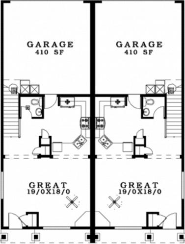 Duplex con cochera