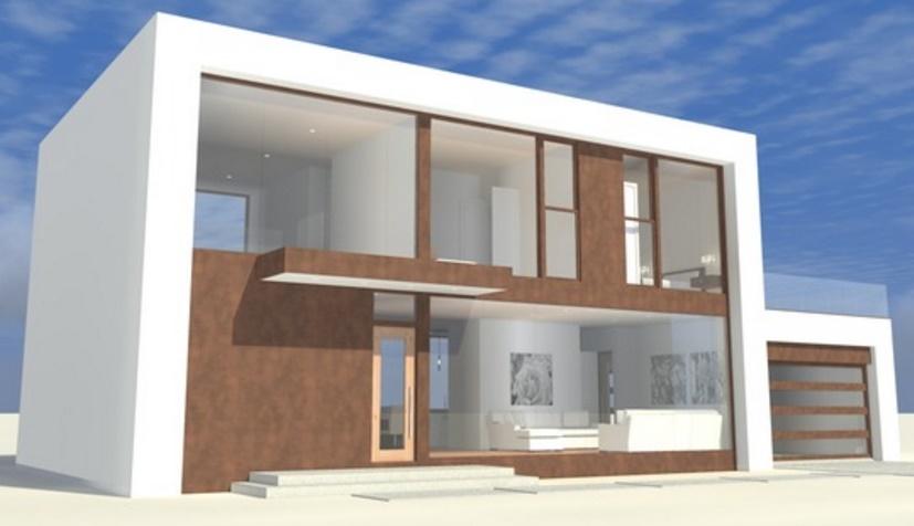 Fachadas de casas de 2 plantas modernas for Fachadas de casas modernas pequenas de 2 pisos