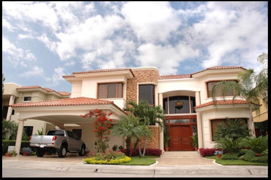 Tipos de fachadas pintado de viviendas interior y for Fachada de casas modernas estilo oriental