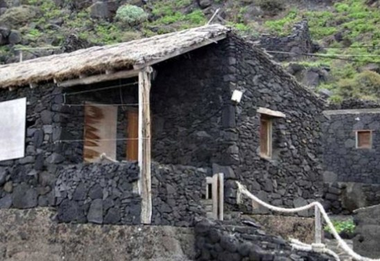Facades With volcanic stone