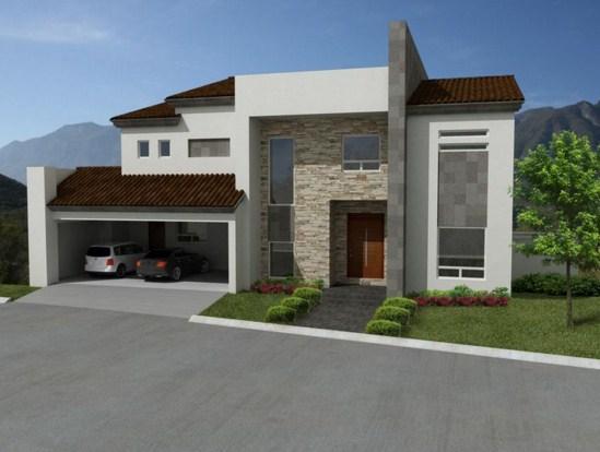 Fachadas de casas con cantera y teja for Fachadas de casas con teja