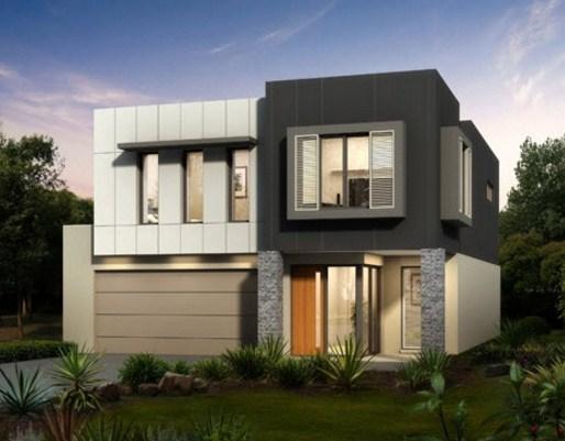 Casas modernas con columnas related keywords casas - Casas con chimeneas modernas ...