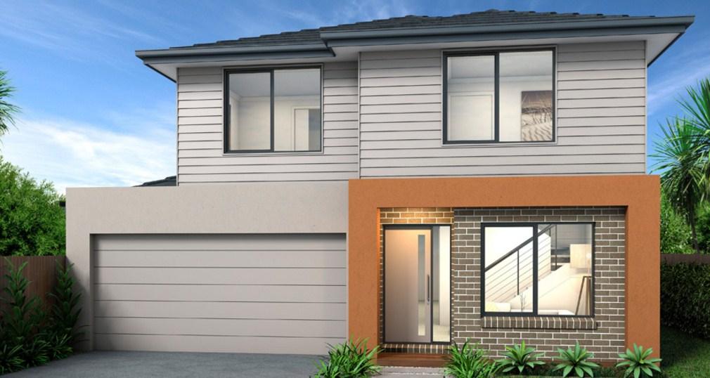 Fachadas de casas con cochera for Casa moderna 6x6