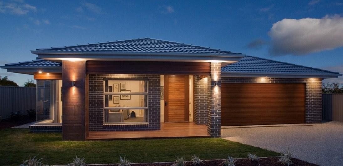 Fachadas de casas con cochera for Estilos de casas modernas
