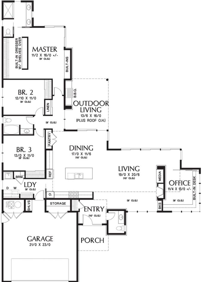 Fachada de casa con techo a 4 aguas for Techos planos para casas