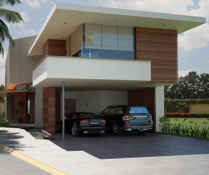 Casas con balcon frontal