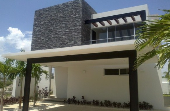 Casas con cochera doble