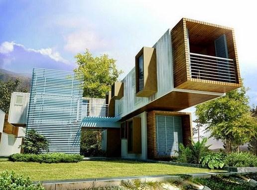 Imagenes de casas con contenedores for Casas modernas acogedoras