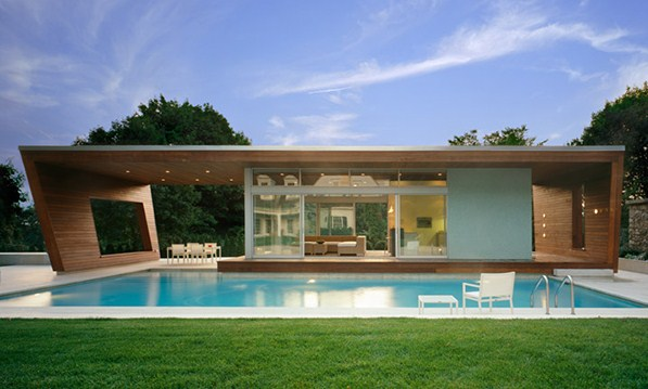 Houses Modern with swimming pool